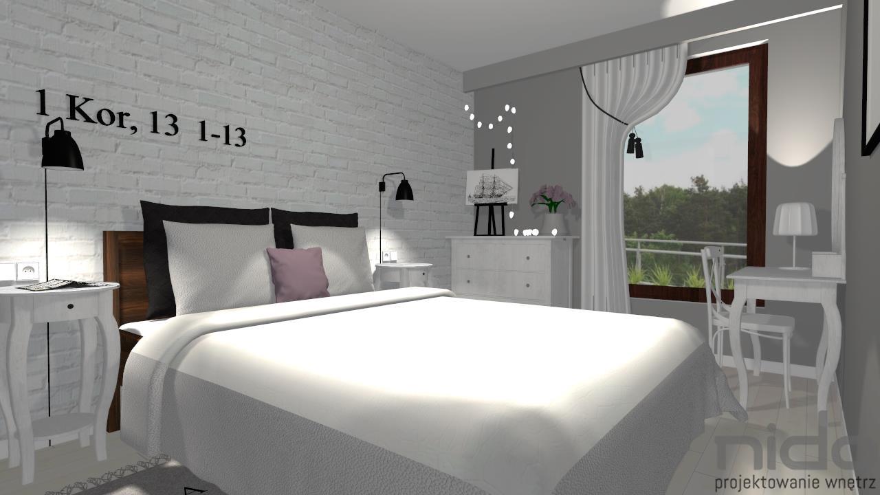 Sypialnia W Stylu Nowoczesnym Nido Projektowanie Wnętrz